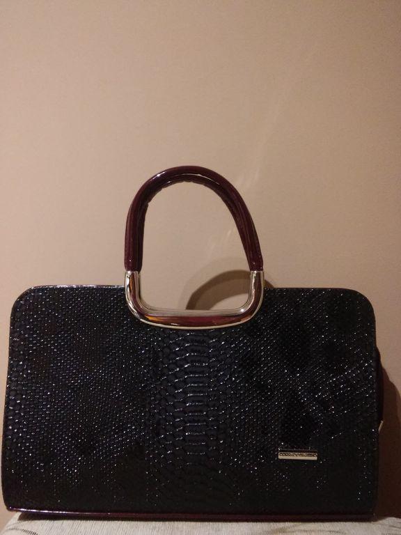 Corrado Martino piton mintás női táska bézs-barna d5b4e13388