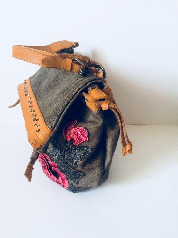 Olasz női táska desigual stílus khaki 16a984bfbd
