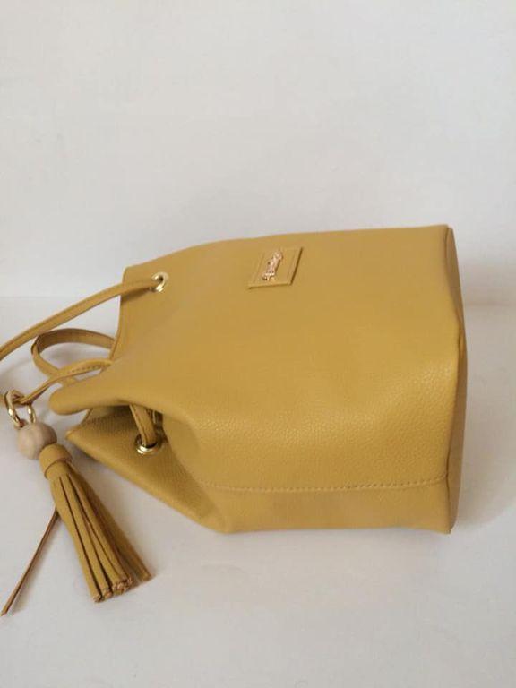 aa3a03bc48 Prestige női táska kézitáska válltáska vállvetős sárga